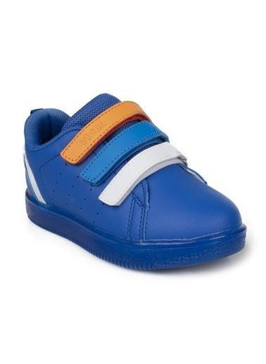 Vicco Vicco Bebe Işıklı Ayakkabı Kız Çocuk Pudra Mavi